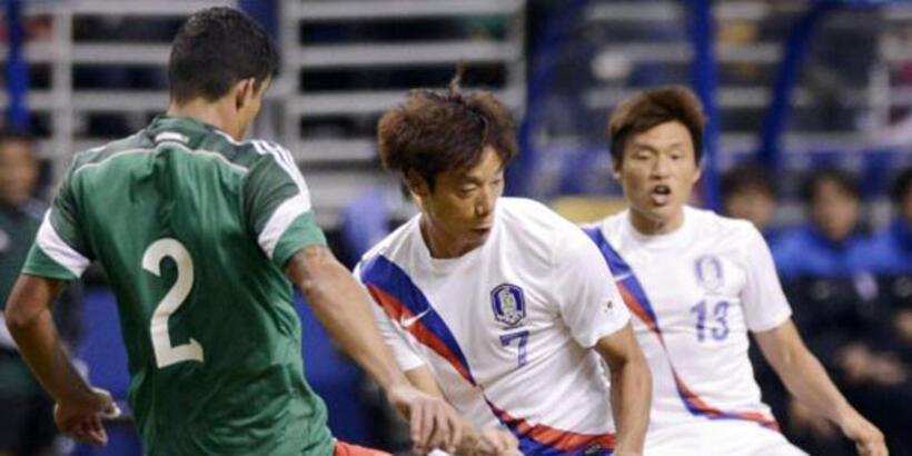 Güney Kore ile Meksika 13. kez karşı karşıya