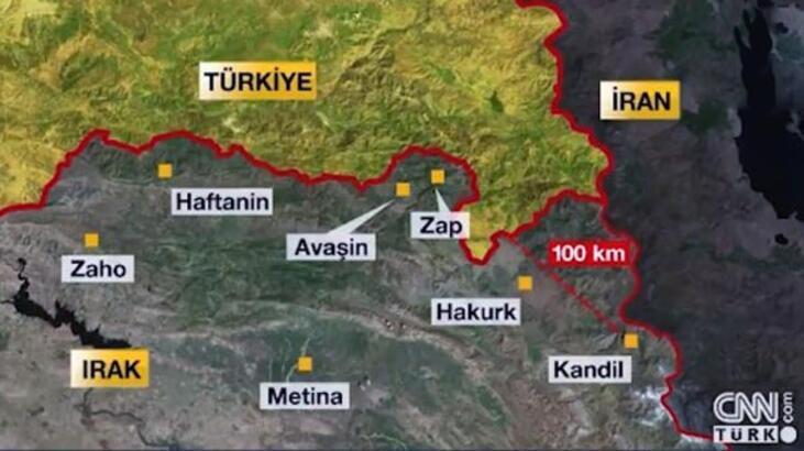 Kandil neden önemli? İşte Irak'taki terör kampları... (CNN Türk özel dosyası)
