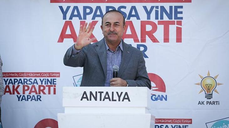 Bakan Çavuşoğlu: Türkiye'yi engellemek için her türlü şer ittifakını kurdular