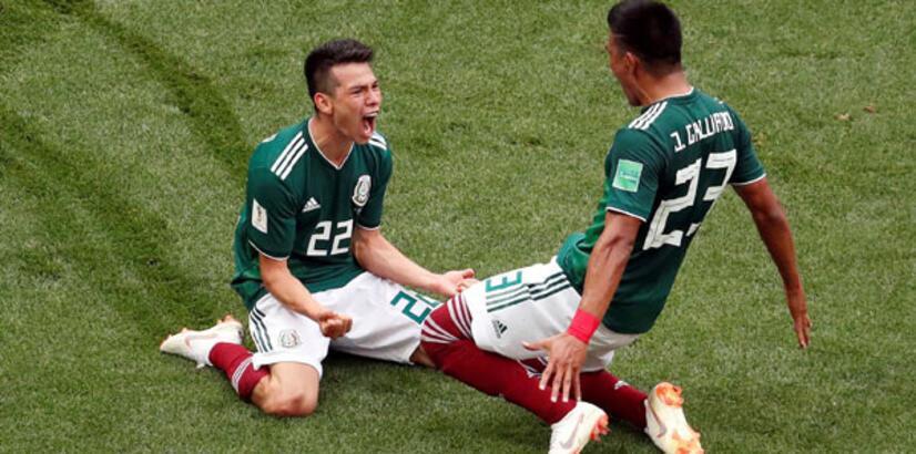 Meksika'da gol anında deprem!