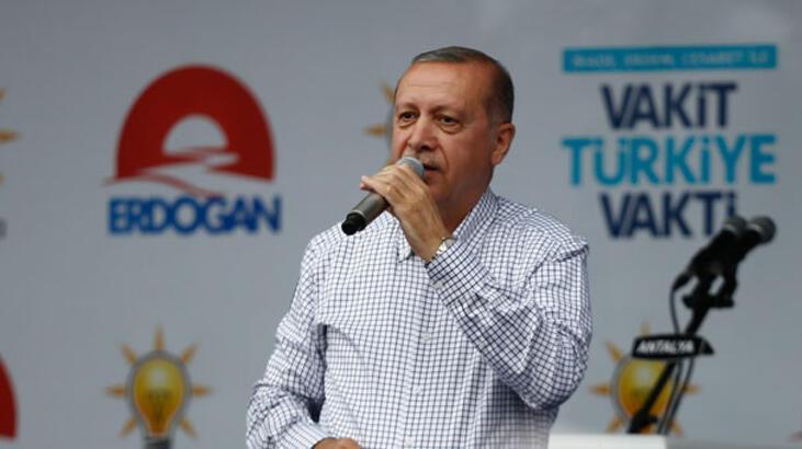 Cumhurbaşkanı Erdoğan:24 Haziran'da kim kimin apoletini sökecek, gelin bunun hesabını soralım!