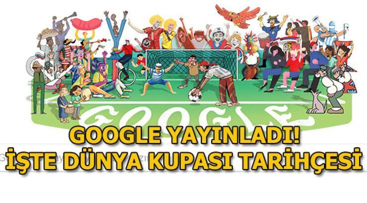 Dünya Kupası 2018 Google'da! Dünya Kupası ilk ne zaman düzenlendi?