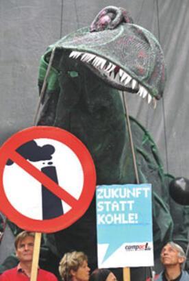 Ejderhalı termik santral protestosu