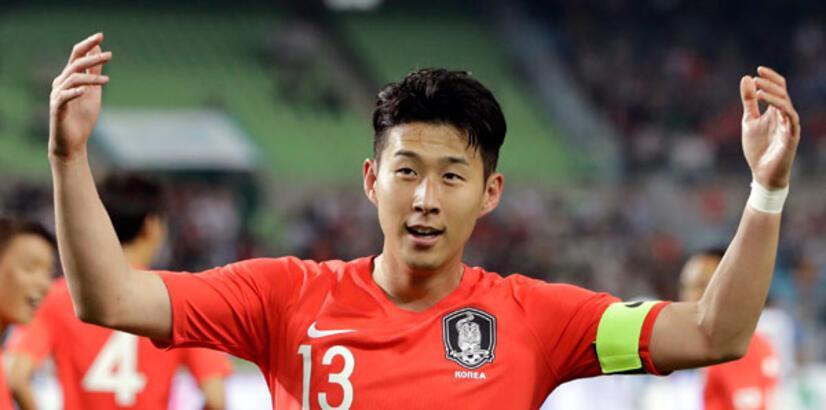 Güney Kore'nin kozu Son Heung-min