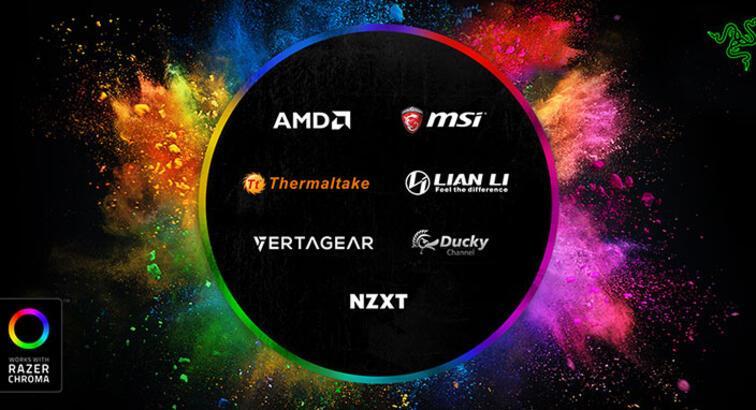 Razer Chroma, artık üçüncü parti cihazlara da uyumlu olacak