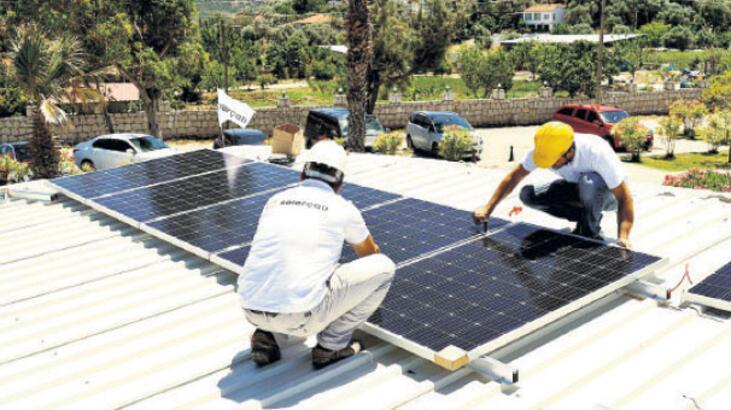 Solarçatı'dan kadın girişimciye sistem