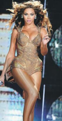 Beyoncé ekimde İstanbul'da