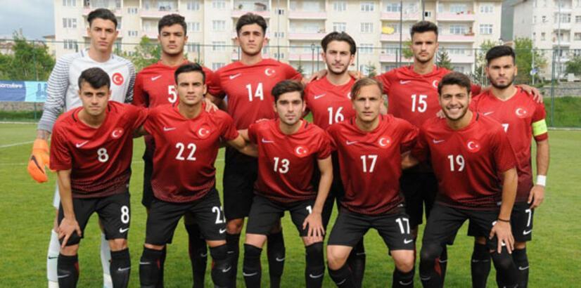 Genç Milliler, Makedonya'yı yendi!