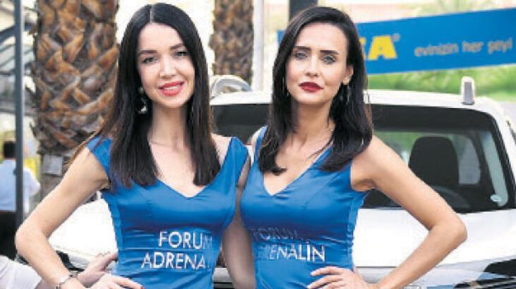 Forum'da 'Adrenalin' heyecanı