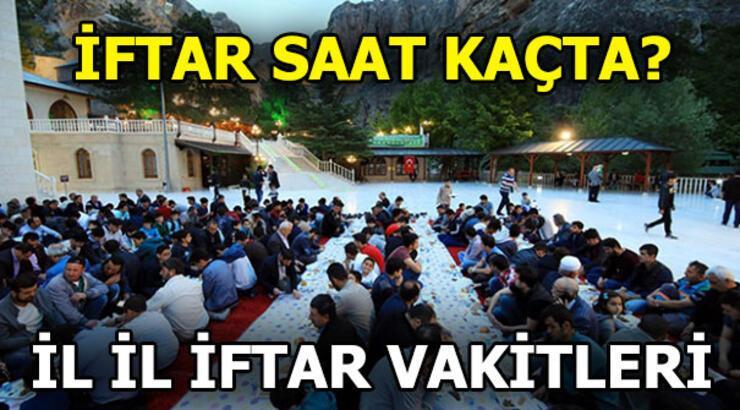 İftar saati ne zaman? İşte  İstanbul, İzmir, Ankara iftar vakitleri...