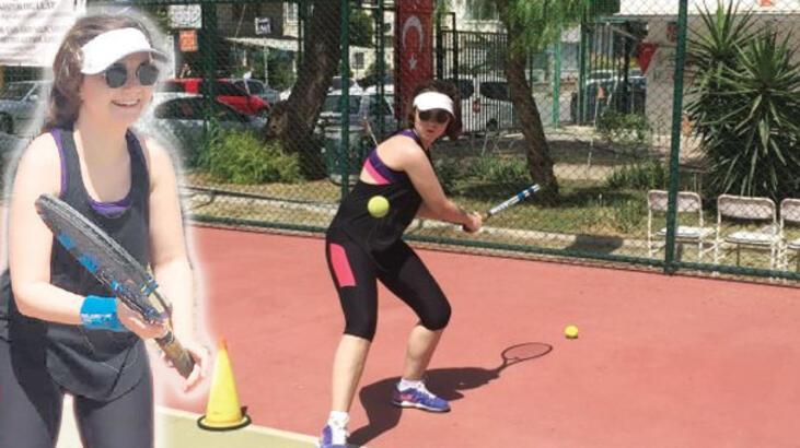 Tenisle hayata bağlandı