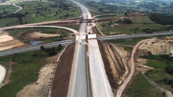 Dev otoyolun 29 kilometrelik kısmı 2018'de trafiğe açılacak