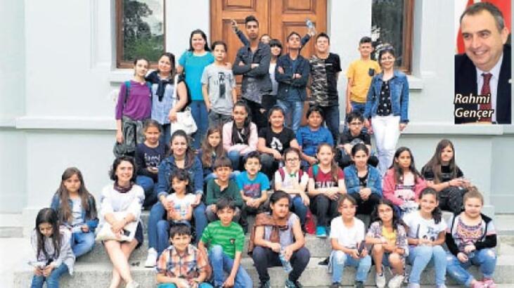 'Çocuklara, sanat dolu pencere açtık'