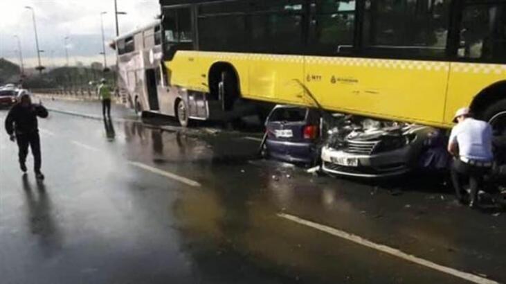 Şemsiyeli metrobüs kazasının davasında şok ifadeler! Annem küfür edince...