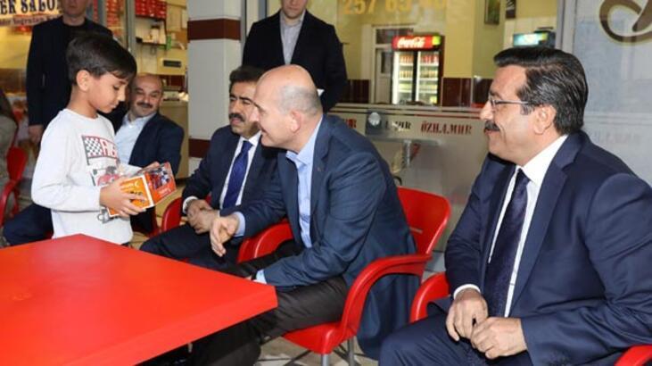 Bakan Soylu Diyarbakır'da incelemelerde bulundu