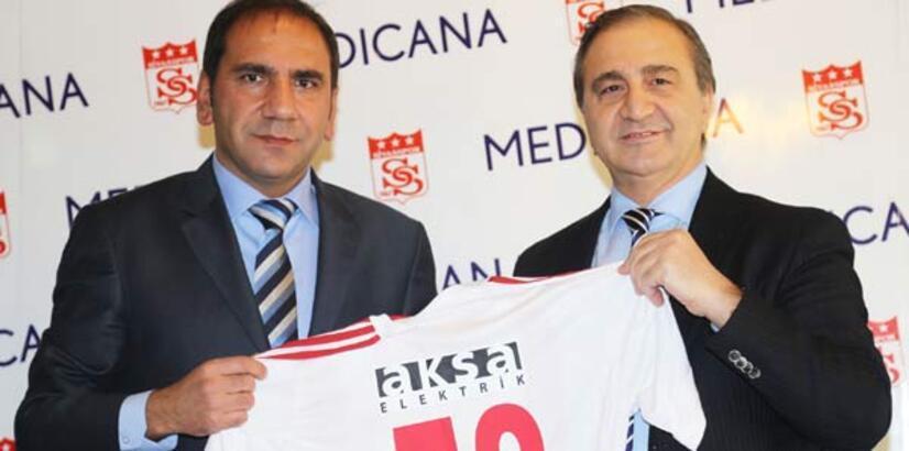 Sivasspor, Medicana ile imzaladı