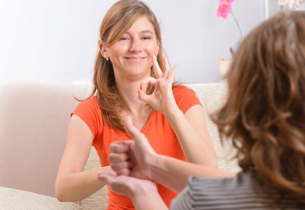 İşaret dili bilenler işsiz kalmayacak