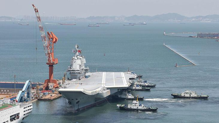 Çin'in ilk yerli uçak gemisi seyir testini tamamladı