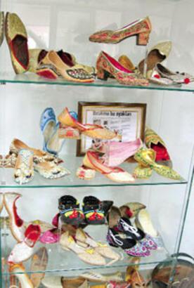 Ayakkabı aşkına 4 bin parçalık koleksiyon