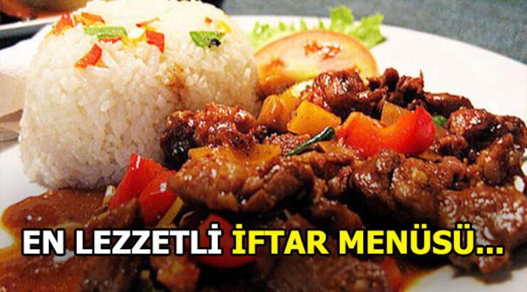 İftar'da ne yenir? En lezzetli iftar menüleri!