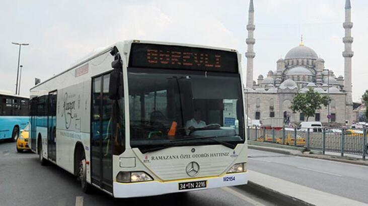 İETT'den ramazana özel otobüs hatları