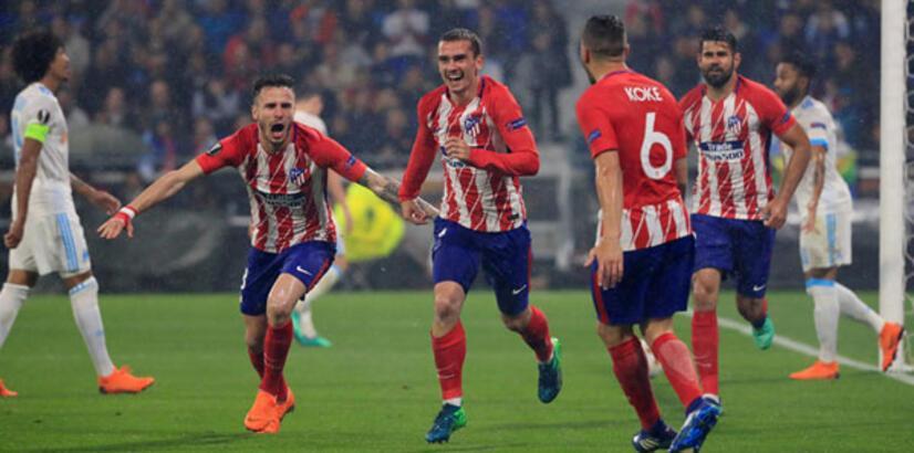 Olympique Marsilya - Atletico Madrid: 0-3 (İşte maçın özeti)