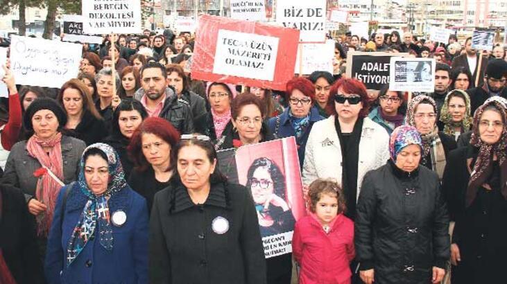 Özgecan'a kıyanlara her yerde protesto