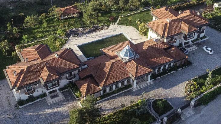 İşte Bursa'daki o malikane! AA görüntüledi