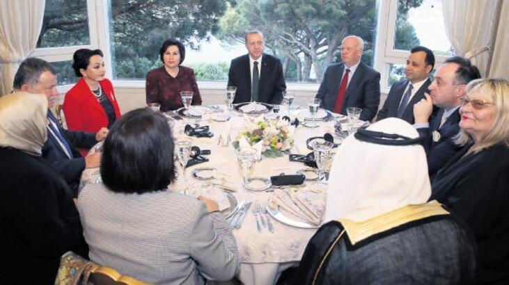 Erdoğan, Danıştay'ın kuruluş yıldönümü yemeğine katıldı