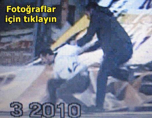 Galatasaray maçındaki tribün dehşeti kamerada...