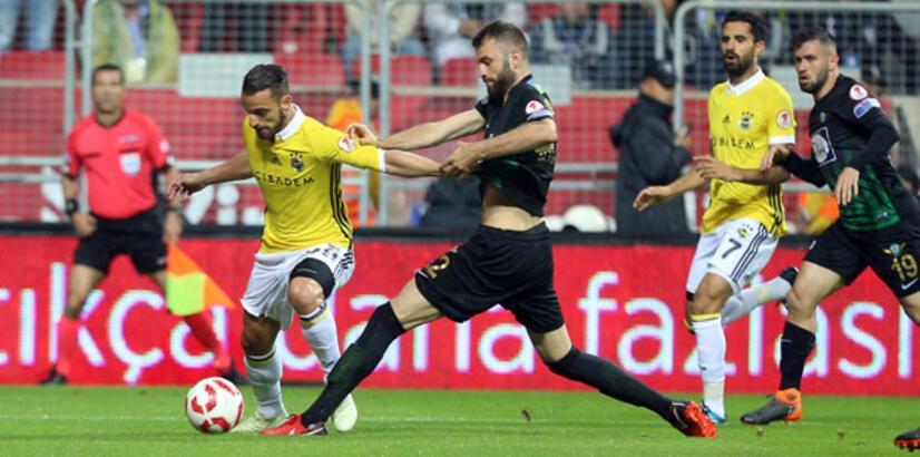 Fenerbahçe Akhisar'ı süpürse sezonu duble ile bitirecekti