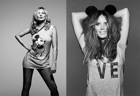 Dünyaca ünlü isimler Mickey için birlikte