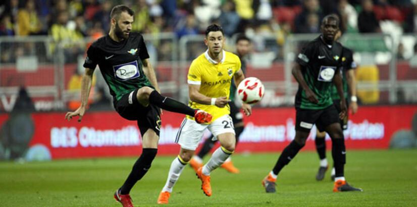 Teleset Mobilya Akhisarspor -  Fenerbahçe: 3-2 (İşte maçın özeti)