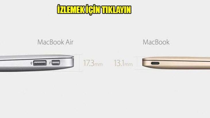 Apple, yeni MacBook'u ve Watch'u tanıttı!