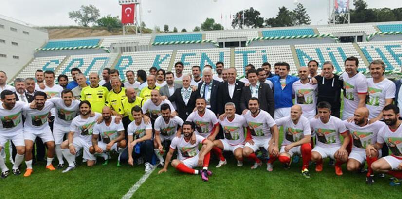 Bursa'da İbrahim Yazıcı Stadı açıldı!