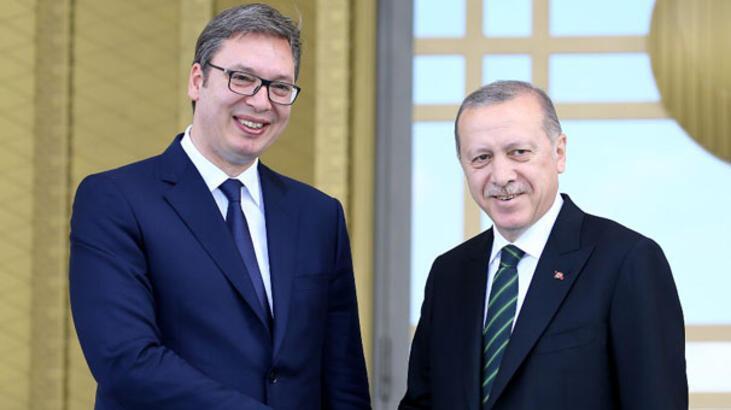 Sırbistan Cumhurbaşkanı Ankara'da