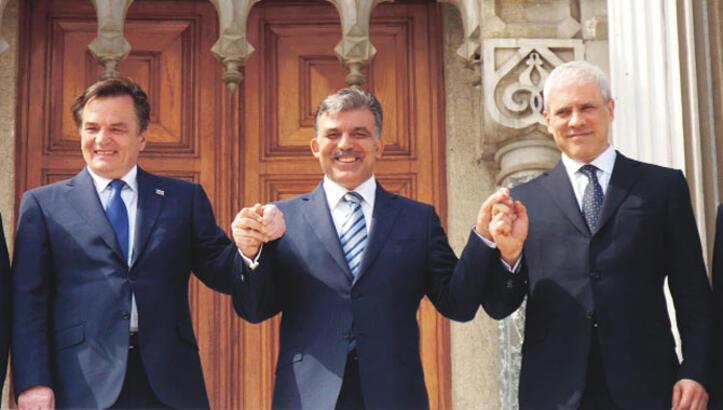 Çırağan'daki 'Üçlü Balkan Zirvesi'nin ev sahibi İstanbul