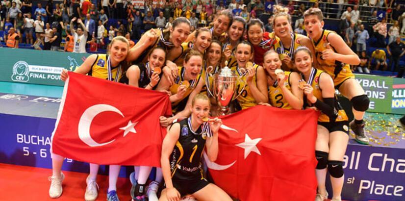 Vakıfbank 4. kez Avrupa şampiyonu!