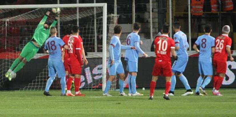 Trabzonspor'un konuğu Akhisar Belediye