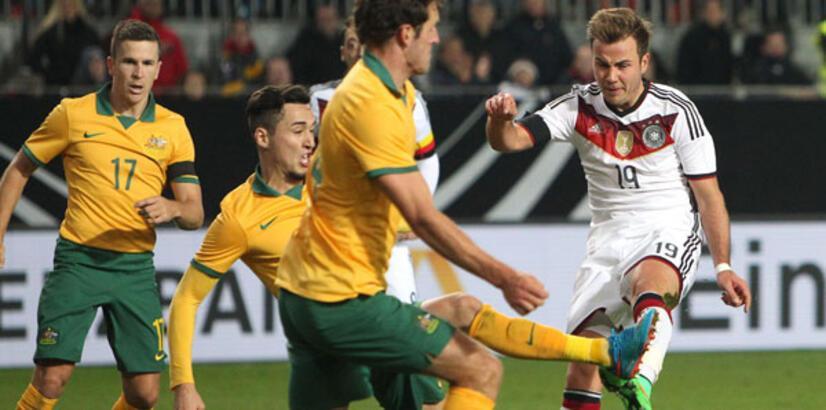 Almanya - Avustralya: 2-2