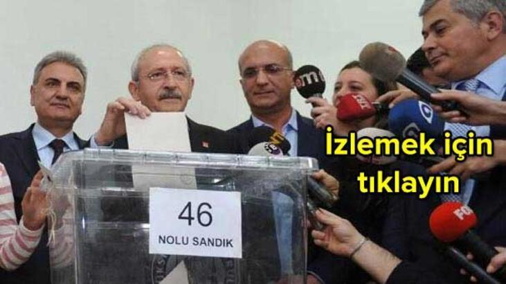 İşte CHP'de ön seçim sonuçları