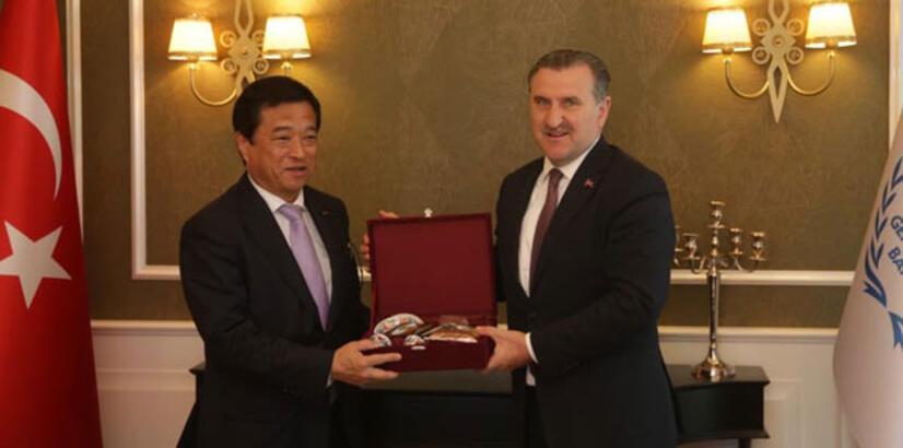 Japon Bakan'dan Türkiye'ye anlamlı destek