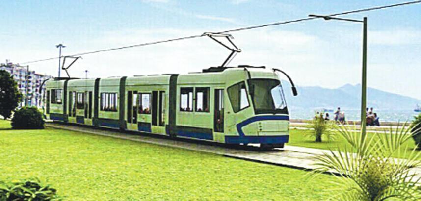 İzmir'e 28 km tramvay hattı