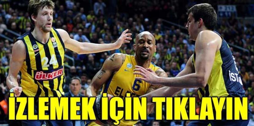 Fenerbahçe Ülker - Maccabi Electra: 80-72