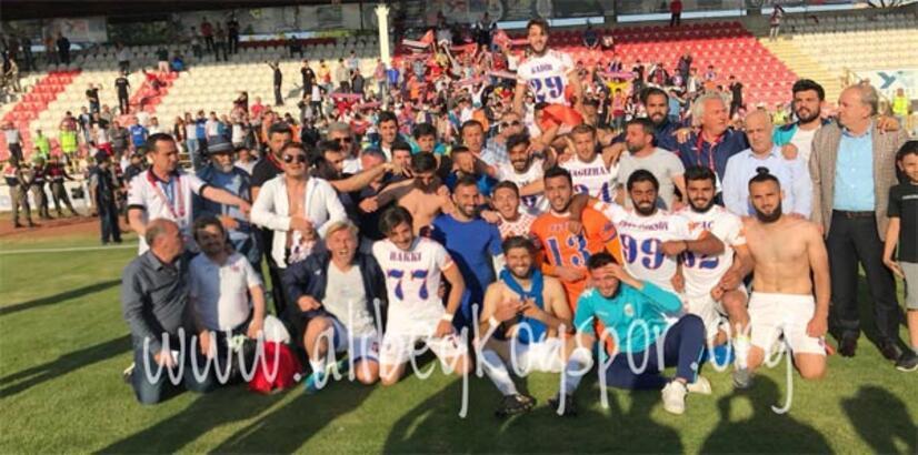 Alibeyköyspor TFF 3. Lig'de!