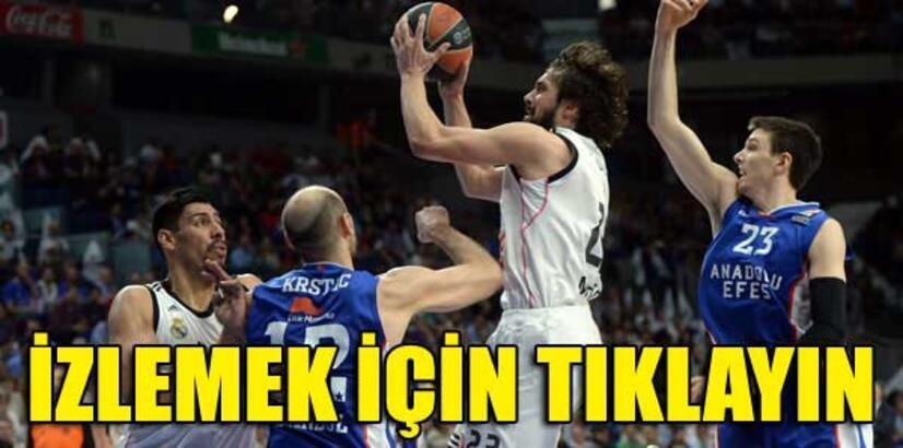 Anadolu Efes maçında süre krizi!