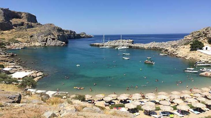 Orta Çağ izlerini taşıyan bir Yunan adası: Rodos