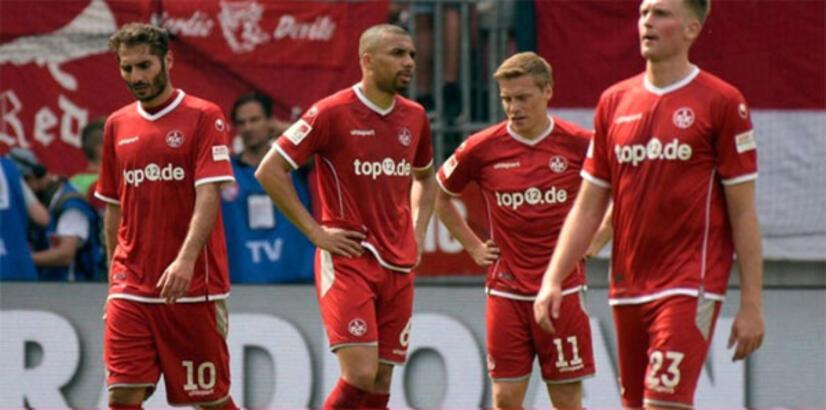 Halil Altıntop'un takımı Kaiserslautern küme düştü