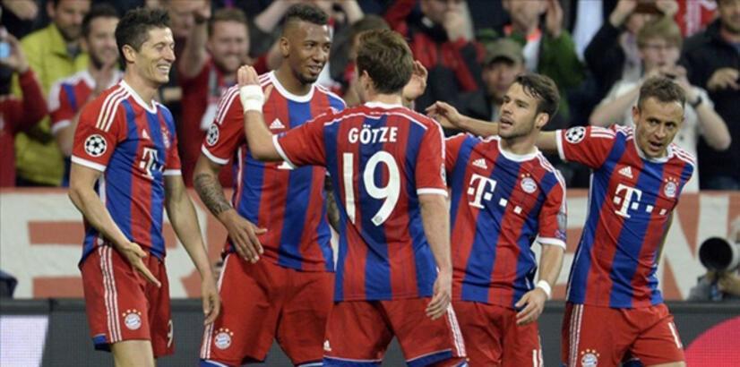 Bayern Münih Porto karşısında gol oldu yağdı