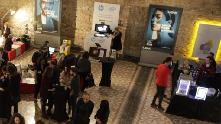 Gençler, HP`nin sponsorluğunda teknoloji ve sanat ile buluştu